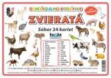 Popis produktu - Súbor 24 kariet - domáce zvieratá