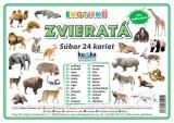 Popis produktu - Súbor 24 kariet - exotické zvieratá