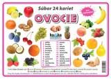 Popis produktu - Súbor 24 kariet - ovocie