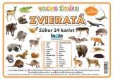 Popis produktu - Súbor 24 kariet - voľne žijúce zvieratá