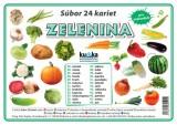 Popis produktu - Súbor 24 kariet - zelenina