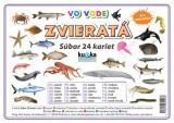 Popis produktu - Súbor 24 kariet - zvieratá (vo vode)