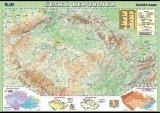 Popis produktu - Česká republika - fyzická mapa