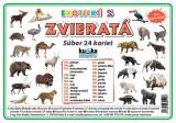 Popis produktu - Súbor 24 kariet - exotické zvieratá 2