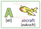 Karty na precvičovanie - anglická abeceda