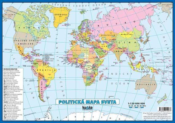 mapa sveta Politická mapa sveta mapa sveta