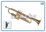 Súbor 24 kariet - hudobné nástroje nakladateľstvo Kupka