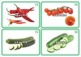 Súbor 24 kariet - zelenina 2