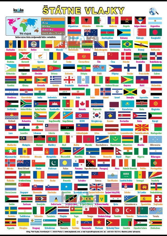 Štátne vlajky