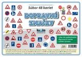Súbor 48 kariet - dopravné značky