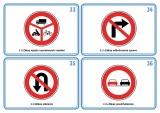 Súbor 48 kariet - dopravné značky nakladateľstvo Kupka